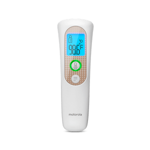smart touchless thermometer blanc